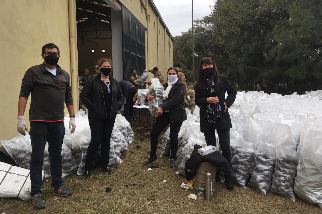 La Provincia y el Banco de Alimentos distribuirán una donación de casi 30.000 kilos de papas