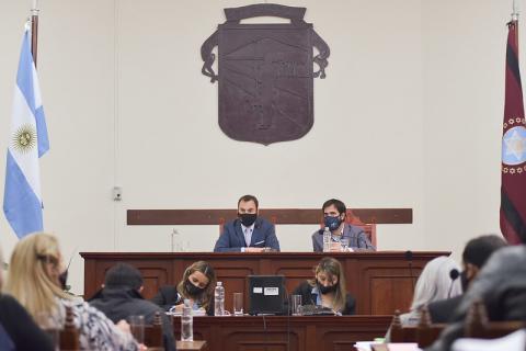 Se realizó una nueva Sesión Ordinaria del Concejo Deliberante