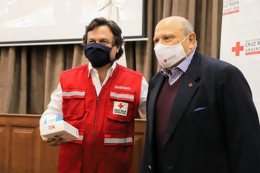 La Cruz Roja donó a Salta 200 termómetros corporales infrarrojos