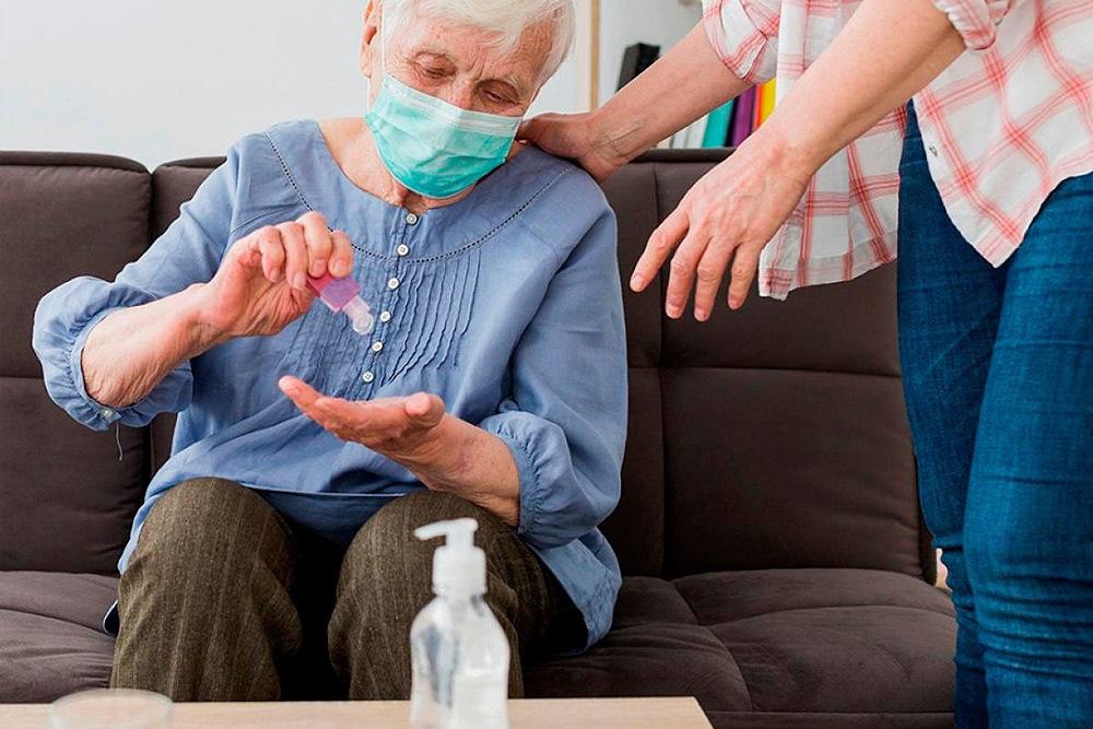 Recomendaciones para cuidar al adulto mayor durante la pandemia