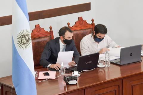 Se realizó de manera virtual una nueva Sesión Ordinaria del Concejo Deliberante