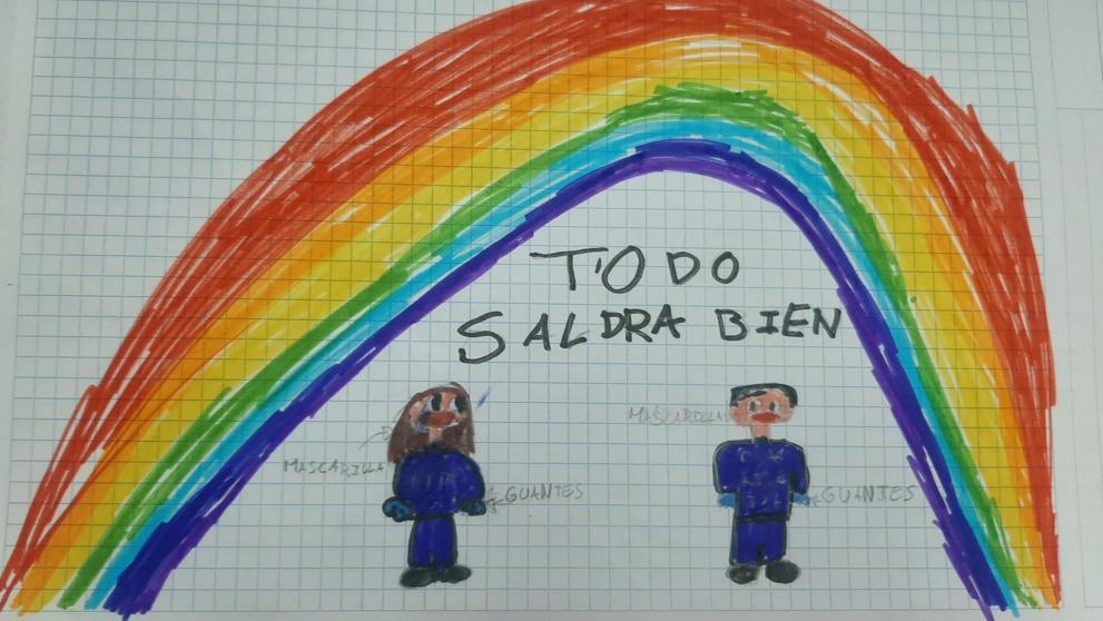 Convocan a niños y niñas a enviar mensajes de ánimo al hospital San Bernardo