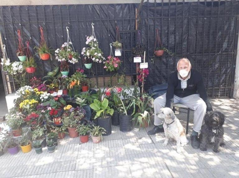 Una nieta mostró el emprendimiento de su abuelo y se hizo viral