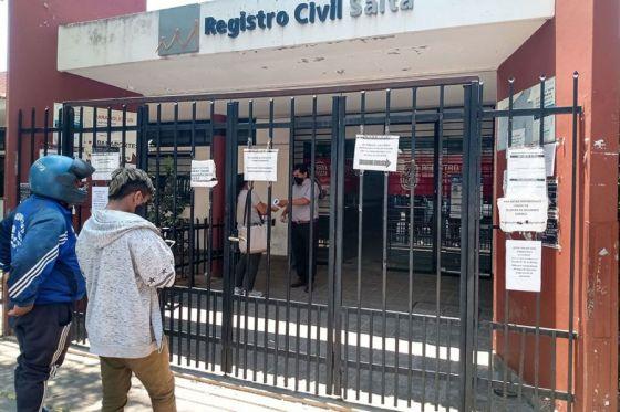 El Registro Civil otorga turnos para realizar actualización de mayores de 14 años en la oficina Central