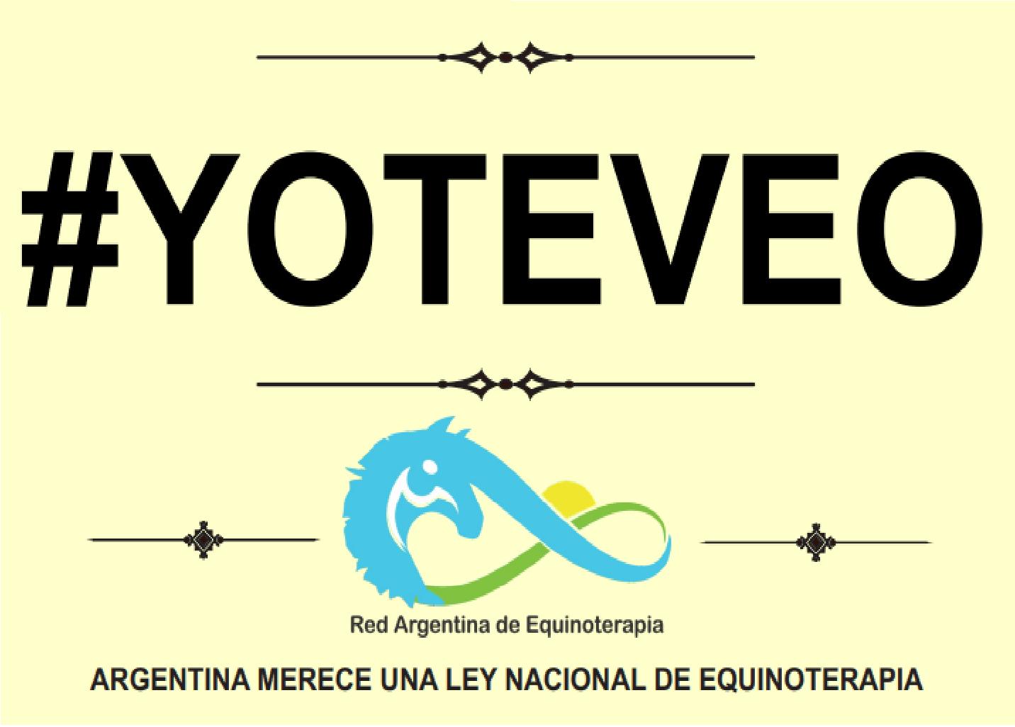 Convocan a la gente a sumarse a la campaña en redes sociales #YOTEVEO