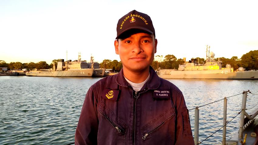 Salteño, hijo de Isla de Cañas, destaca su vida en el mar