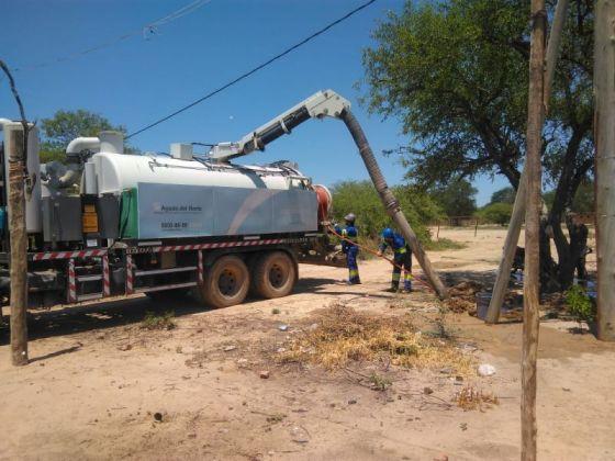 Regularizaron el abastecimiento de agua en La Junta y en Misión La Paz