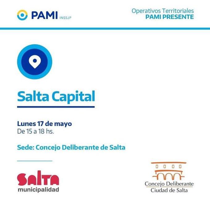 Hoy los afiliados del PAMI podrán realizar consultas y trámites en el Concejo Deliberante