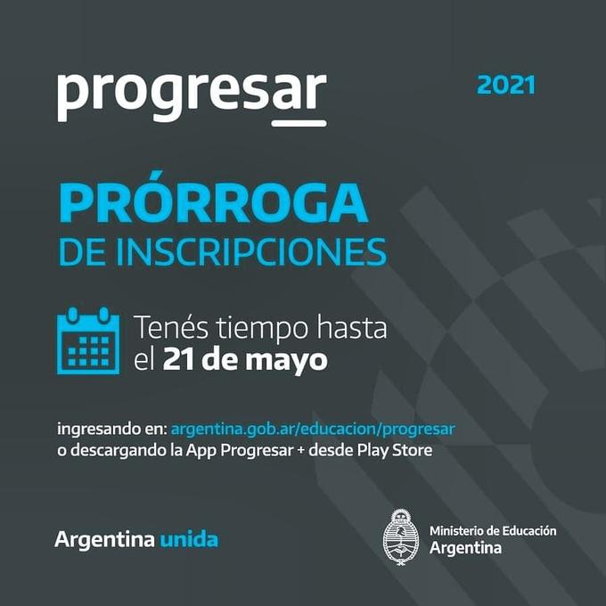 Hasta el 21 de mayo hay plazo para inscribirse para las Becas Progresar