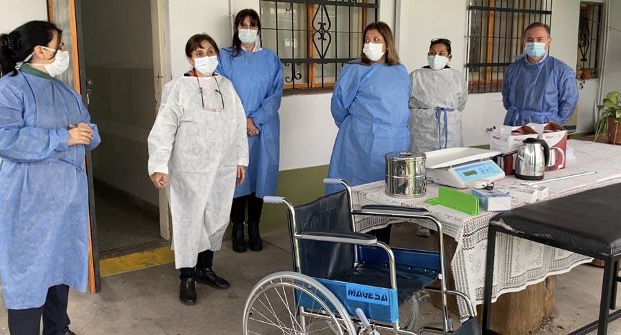 Centro de Salud Pilar adquirió equipamiento