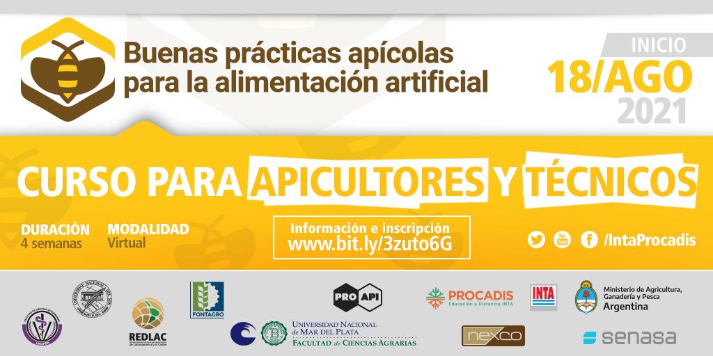 """Curso """"Buenas prácticas apícolas para la alimentación artificial"""""""