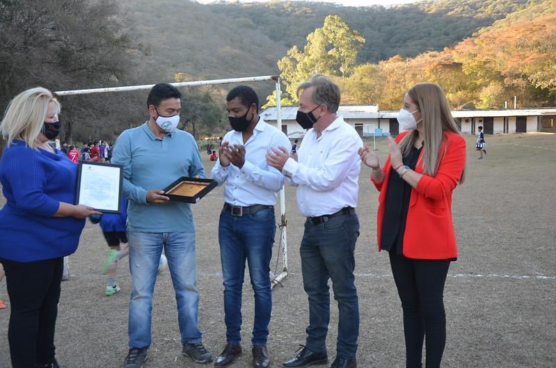 Fundación Estribando Esperanzas fue destacada la labor social y solidaria