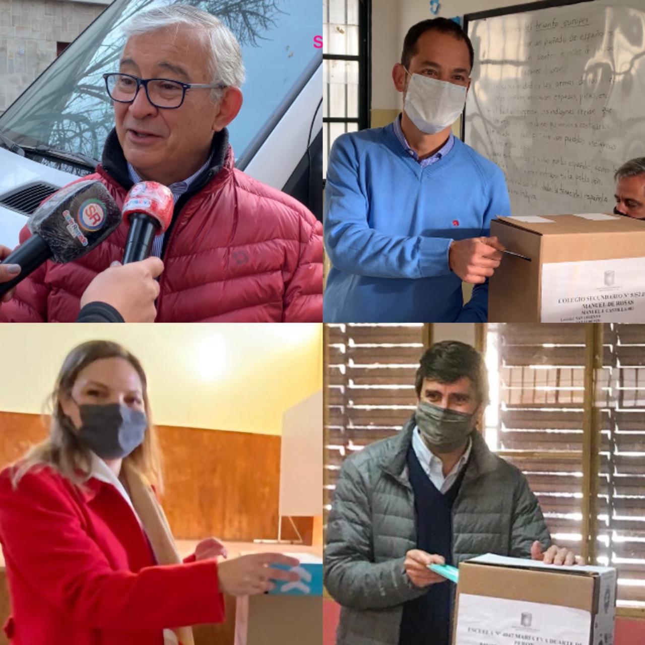 #SaltaElige: Asi votaron algunos candidatos a senador por la capital