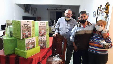 Exitosa campaña solidaria en favor de Cachito Rodríguez