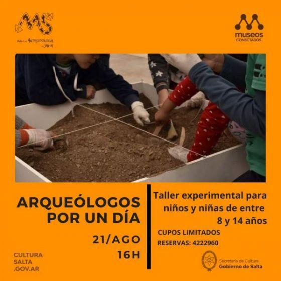 """El Museo de Antropología realizará el Taller """"Arqueólogos por un día"""""""