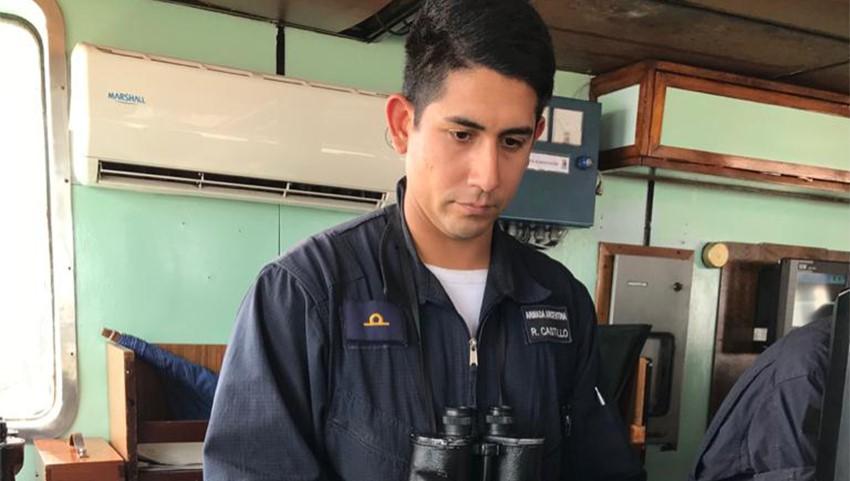 #OrgulloSalteño: Guardiamarina Rafael Osvaldo Castillo de Embarcación esta en la Armada Argentina