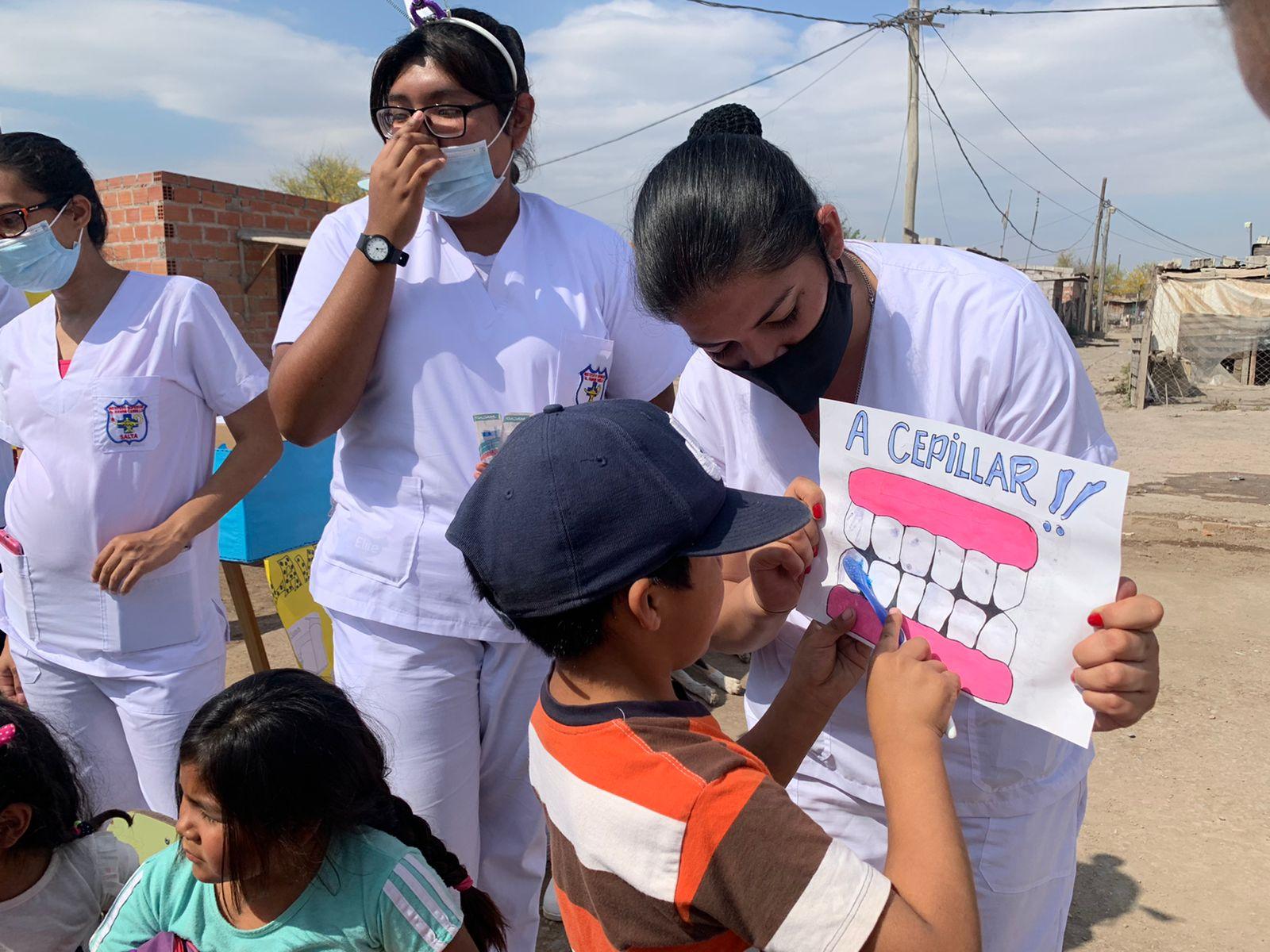 ATSA recorre comedores y merenderos con las jornadas de Salud Educativa y Comunitaria