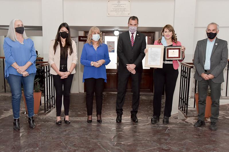 Fundación Creando Familias Sanas fue reconocida por el Concejo Deliberante