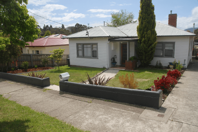 Cinderblock, improved | Saltbush Avenue