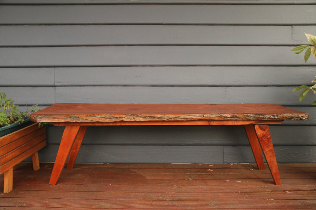 Enjoyable Build A Live Edge Bench Saltbush Avenue Evergreenethics Interior Chair Design Evergreenethicsorg