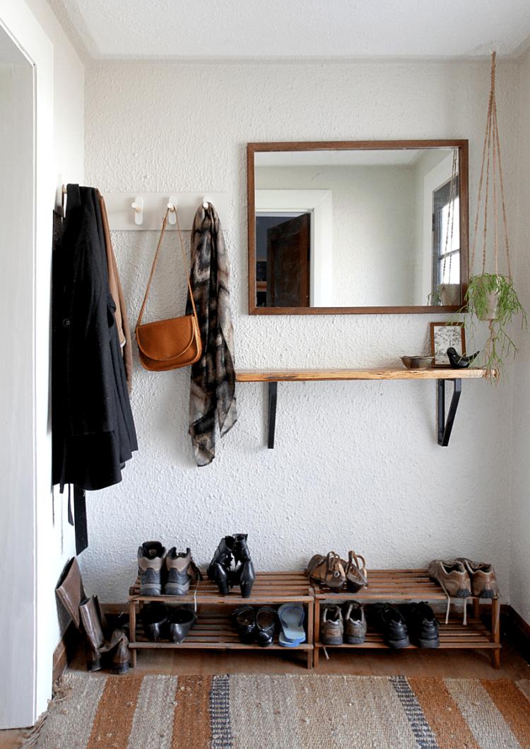 DIY Wooden Peg Coat Rack | Saltbush Avenue