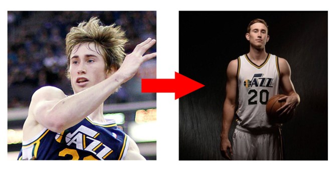 Photos courtesy of ESPN and @GordonHayward