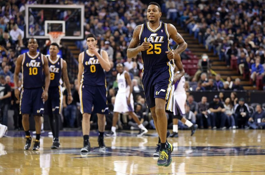 Former Jazz guard Brandon Rush is now officially an NBA champion. (Kelley L Cox-U)SA TODAY Sports