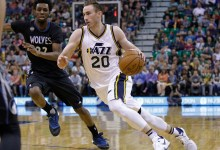 Hayward, Lyles Lead Jazz to 98-85 Win Over Timberwolves