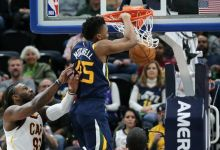 Mitchell Lifts Jazz over King's Cavaliers 104 – 101