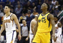 Jazz Score 129 for Second Straight Game in Phoenix Blowout