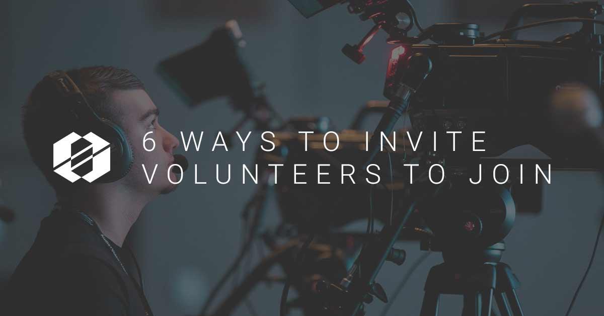6 Volunteer invitation ideas - SALT Community