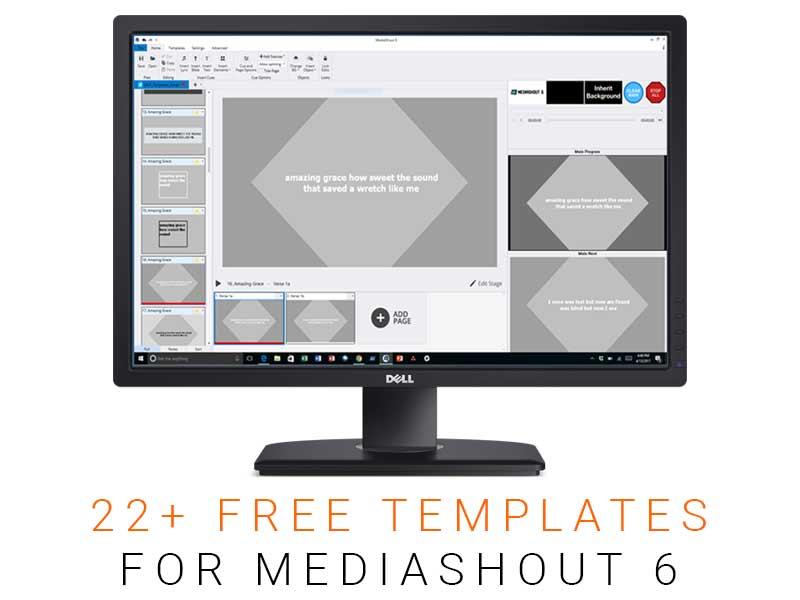 Free MediaShout Templates
