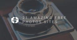 21 Amazing Free Photos sites