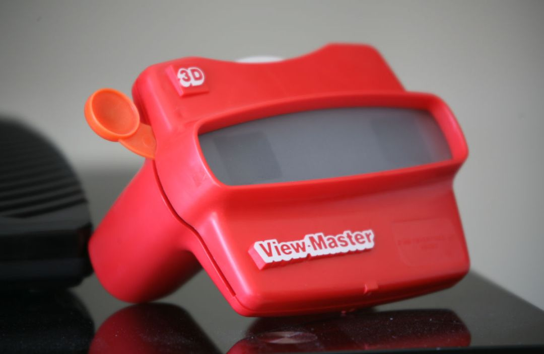 Appreciating Volunteers with a View Master