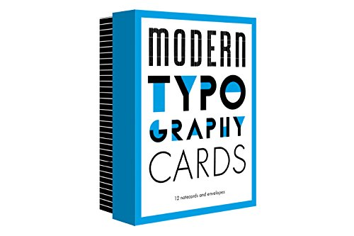 Modern Typography Cards - Creative Christmas Gifts