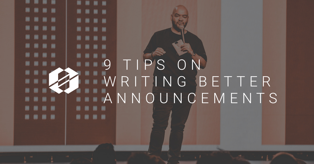 writing-announcments-9-tips