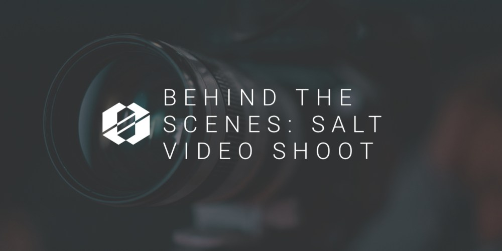 Behind The Scenes: SALT Video Shoot