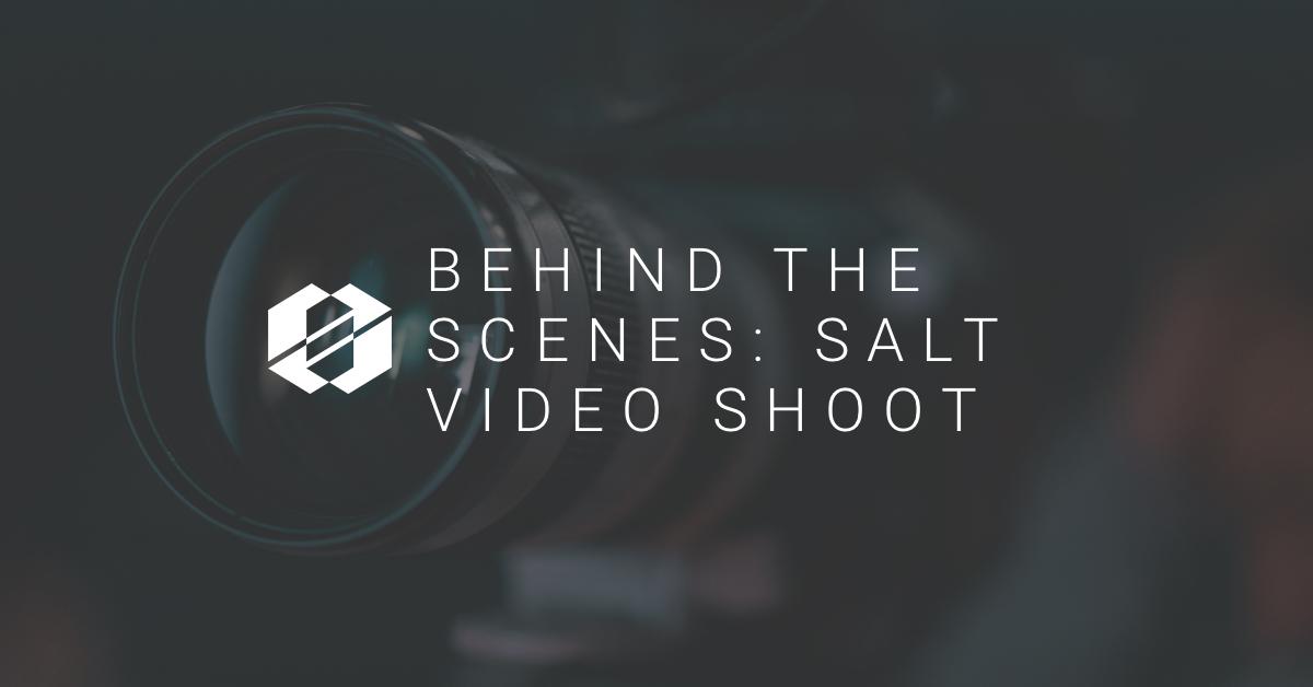 Behind The Scenes: SALT Video Shoot
