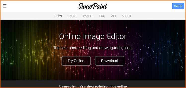 Photoshop Alternative - SumoPaint