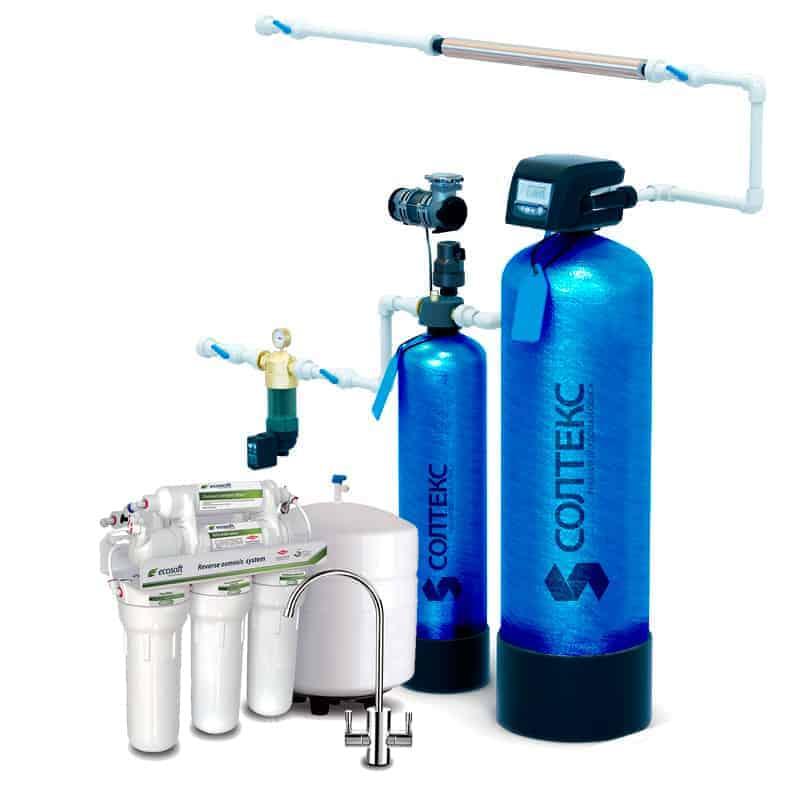 Система очистки воды в коттедж «Стандарт»
