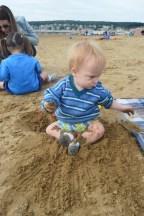 This boy got so messy!