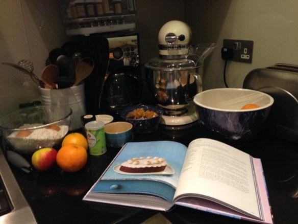 Easter baking before...