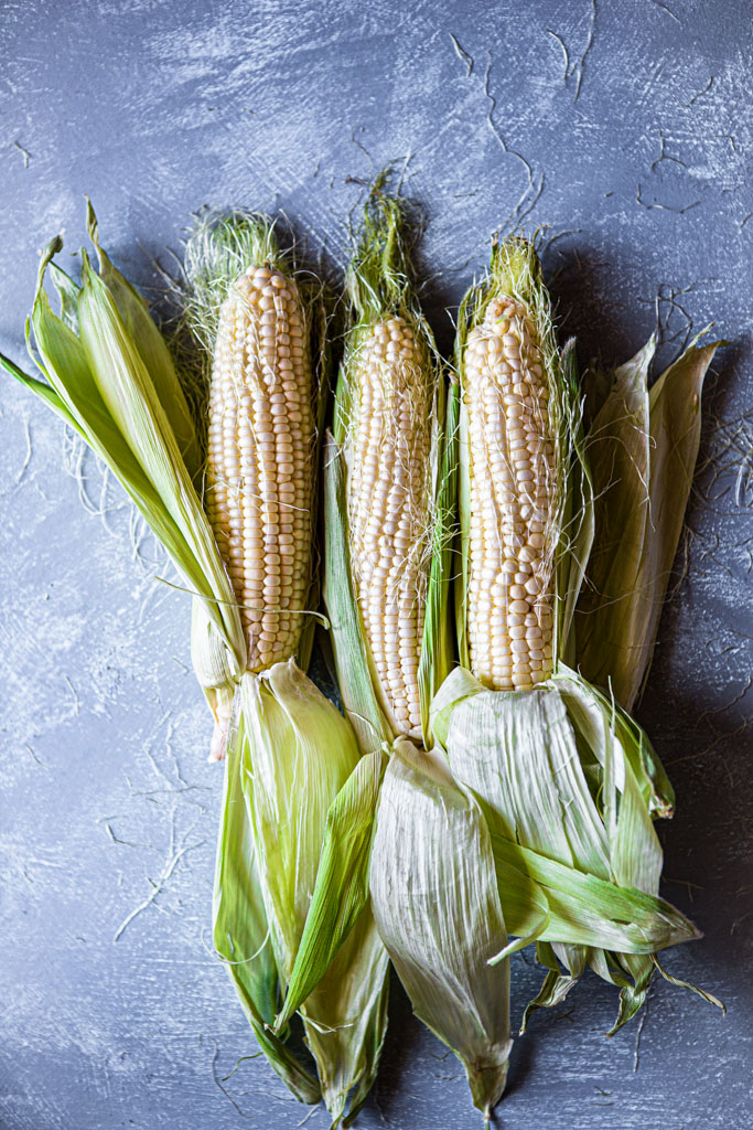Farm-fresh corn is the sweetest and most delicious.