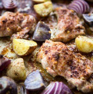 Smoked paprika and cumin add a flavor punch to this simple sheet pan dinner.