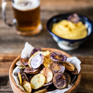 Crispy Oven-Baked Potato Chips
