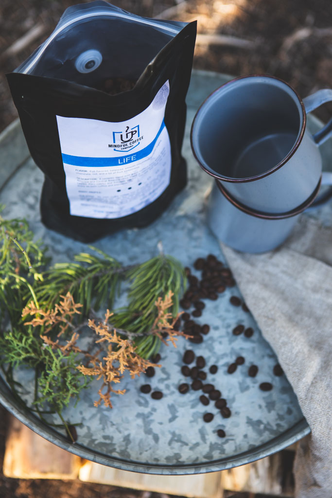 No camping experience is complete without a great cup of morning coffee.