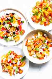 🍅 4×4 Tomato Salads You Need In Your Life
