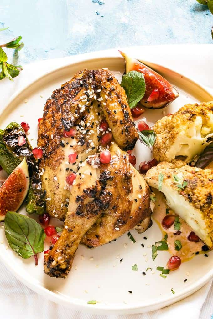 Are you ready for a show stopping Moroccan feast that's a 30 minute meal and is more than classy and fancy enough for entertaining but simple enough for weeknights?Then this is the dinner for you. Oh yeah... and it's totally weight watchers friendly!