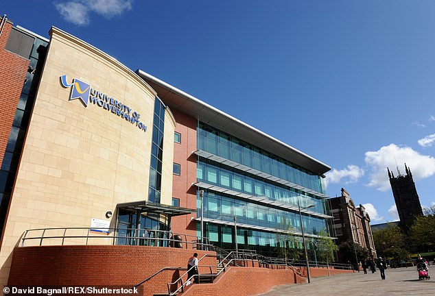 Wolverhampton University accepted £2.8million in cash. Chris Greany, an ex-national coordinator for economic crime, questioned why cash payments are still acceptable for universities