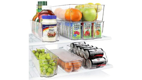 Greenco Stackable Storage Organizer Containers